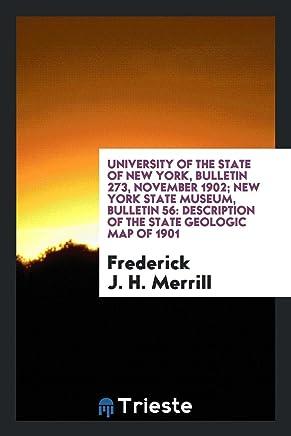 Merrill, F: University of the State of New York, Bulletin 27