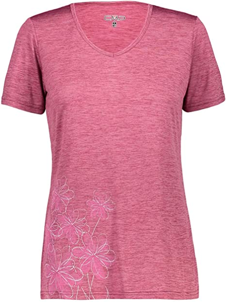 CMP T-Shirt Tecnica con UPF camiseta Mujer