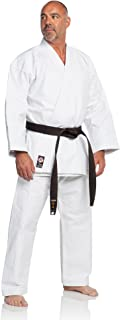 Ronin Brand Karate Gi - Super Heavy Weight 16oz Martial Arts Karate Uniform - Comes in Full Black or White - Professional Designed, Perfect for Training or Competition
