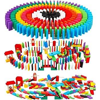 ドミノ 倒し セット(240個 + ピタゴラ ギミック 24種) 日本語説明書・収納袋付き 木製おもちゃ カラフル Bajoy 大人も楽しめる 木のおもちゃ 誕生日 クリスマス プレゼント 6+