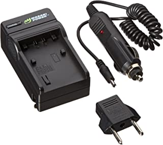 Wasabi Power Battery Charger for Sony BC-TRV, NP-FV30, NP-FV50, NP-FV70, NP-FV100 and Sony DCR-SR15, SR21, SR68, SR88, SX15, SX21, SX44, SX45, SX63, SX65, SX83, SX85, FDR-AX100, HDR-CX105, CX110, CX115, CX130, CX150, CX155, CX160, CX190, CX200, CX210, CX220, CX230, CX260V, CX290, CX300, CX305, CX330, CX350V, CX360V, CX380, CX430V, CX520V, CX550V, CX560V, CX580V, CX700V, CX760V, CX900, HC9, PJ10, PJ30V, PJ50, PJ200, PJ230, PJ260V, PJ340, PJ380, PJ430V, PJ540, PJ580V, PJ650V, PJ710V, PJ760V, PJ790