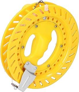 ABS Kite Line Wheel, 20cm Kite Reel, Rotate 360° Toughness Flying A Variety Of Kites Outdoors(20cm full yellow wheel + 200...