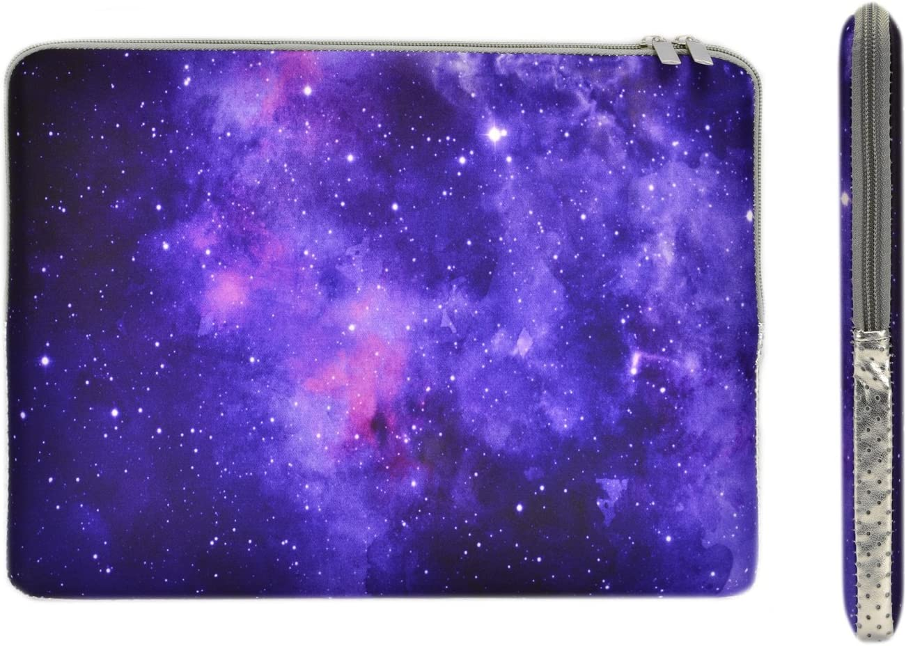 Notebook Sleeve Case Universe Purple Galaxy Star for 15IN-15.4IN Computer MacBook Air Briefcase