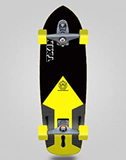 TXIN - surfskate Shaper Black 34 Surf Skate with T12 Truc...