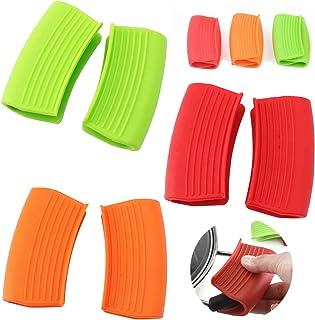 6 Stuks Mini Oven Mitt Mini Ovenwant Handle Pot Holder Eenvoudige Handschoenen Handgreep Kookklem Hittebestendige Isolatie...