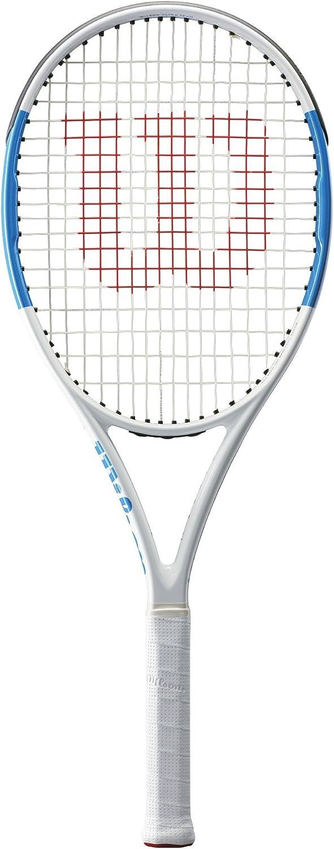 Wilson Ultra Team 100Ul Tennis Racquet, White blueee, 41 4 Inch