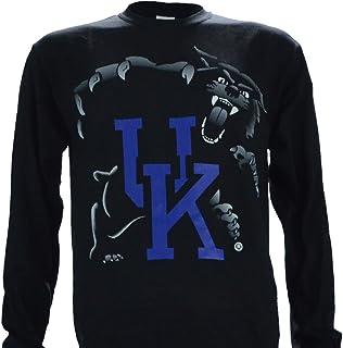 University of Kentucky UK Highlight Long Sleeve Black T Shirt