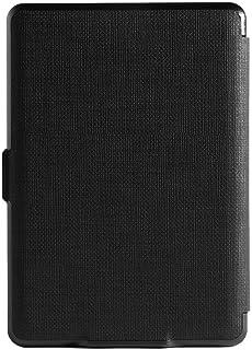 Magnetiskt pu-läder skyddande fodral täcker hud för Kindle Paperwhite 3 1 2 dammskyddande skydd och reptålig svart