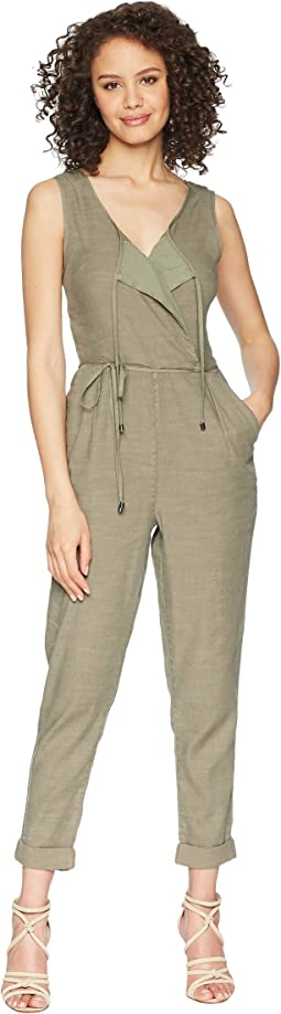 Arabesque Surplice Jumpsuit