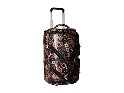 Sakroots Artist Circle Suitcase (Graphite in Bloom) Luggage
