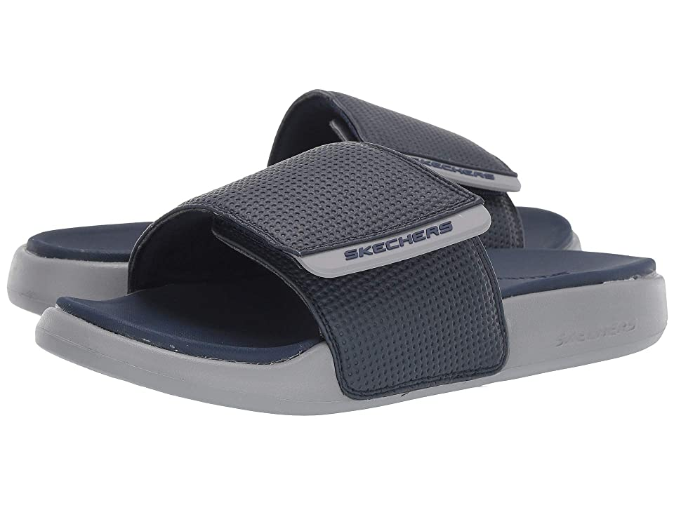 SKECHERS Gambix 2.0 (Navy/Gray) Men