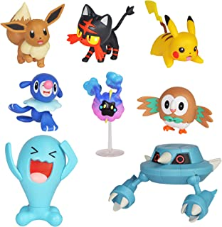 Pokemon Action Figure Mega Battle Pack - Comes with 2