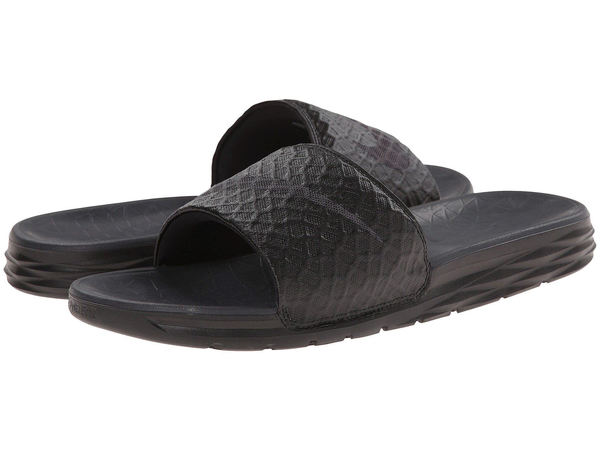 0aa0a519f Black Anthracite. 932. Nike. Benassi Solarsoft Slide 2