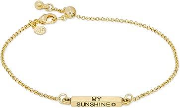 Luca + Danni You are My Sunshine Slider Bracelet for Women Made in USA