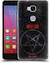 Official Motley Crue SATD Star Albums Soft Gel Case Compatible for Huawei Honor 5X / GR5