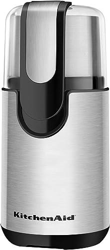popular KitchenAid lowest BCG111OB outlet online sale Blade Coffee Grinder - Onyx Black (Renewed) outlet online sale