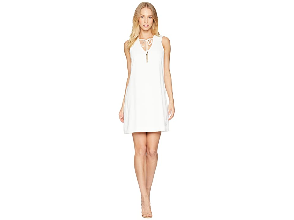 Trina Turk Arleen Dress (Whitewash) Women