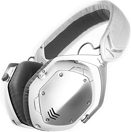 V-MODA Crossfade Wireless Over-Ear Headphone - White Silver (Certified Refurbished)
