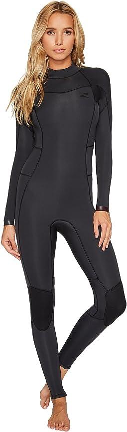 Billabong - 3/2 Synergy Back Zip Full Suit