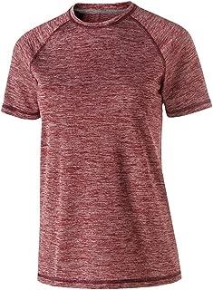Holloway Ladies Electrify 2.0 Shirt (Medium, Cardinal Heather)