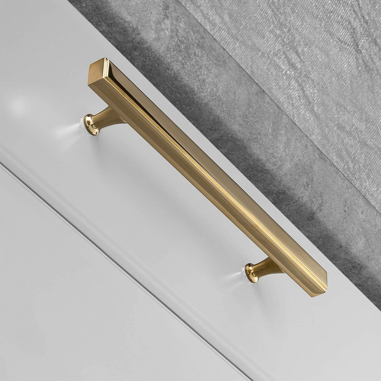 MYOH Nova Bar Pull Aged Over item handling ☆ Brass CC New item inches mm 304.8 12