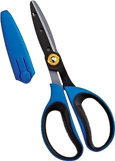Kutsuwa STAD schoolchildren work scissors SS106BL Blue by Kutsuwa