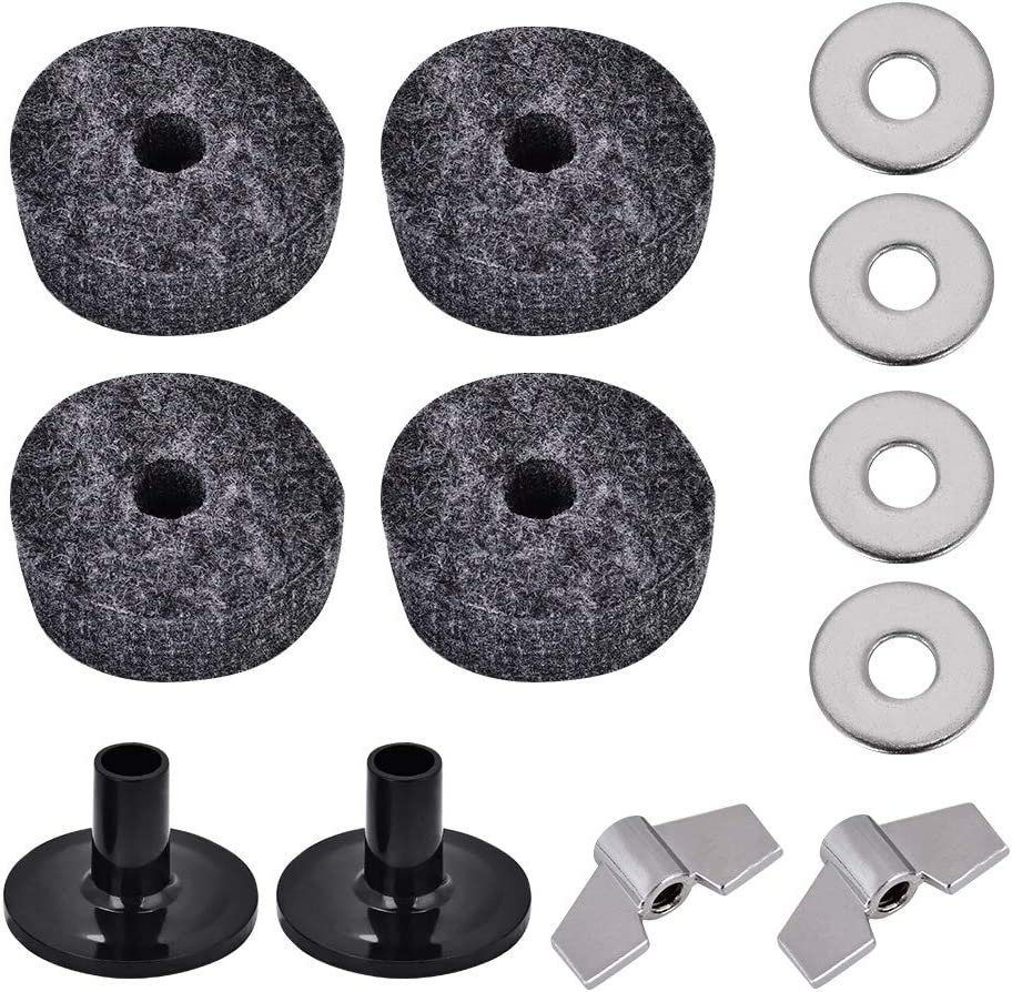 Ranking TOP1 Xndz Boston Mall Cymbal Felts Sleeves Practical for Impro Nuts Wing