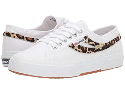 Superga 2953 COTU Pony Hair (White Leopard) Women
