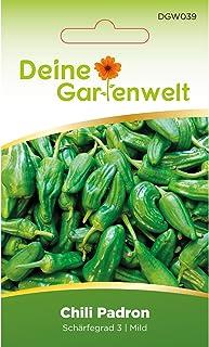 Chili Padron | Samen für milde Chilis | Chilisamen | Padronsamen