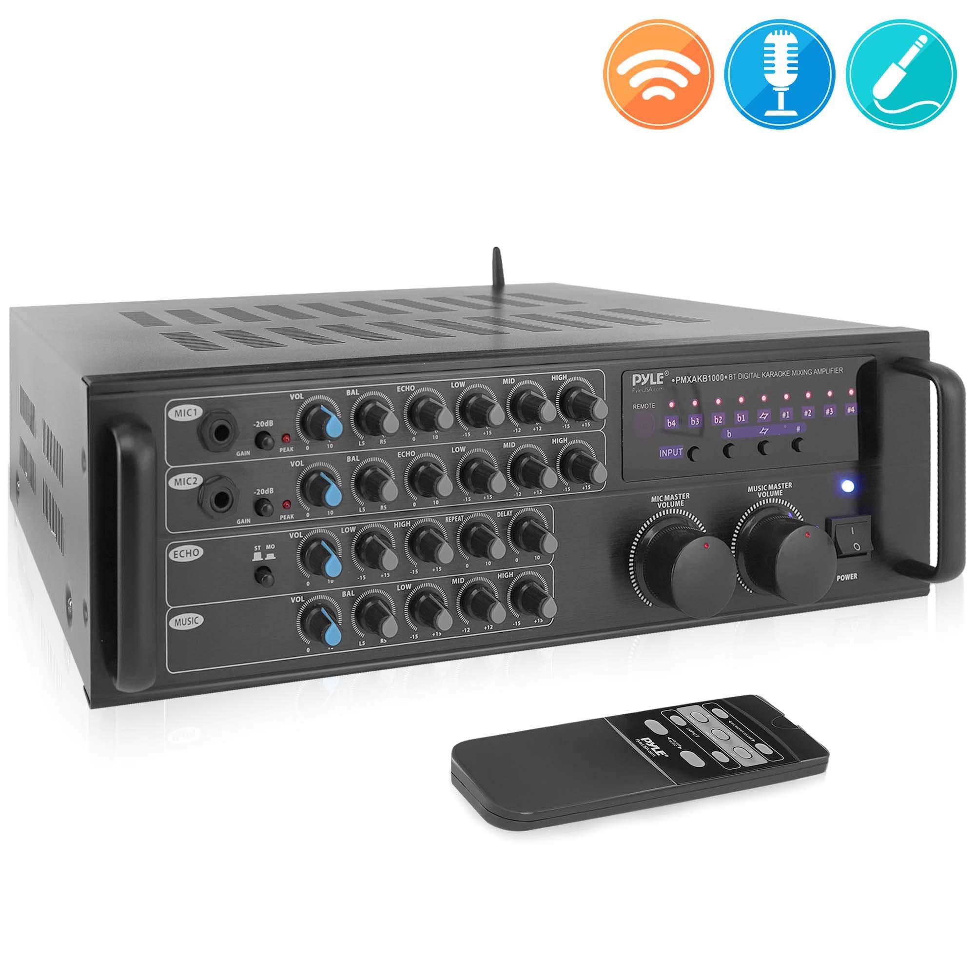Pro 1000 Watt Portable Wireless Bluetooth