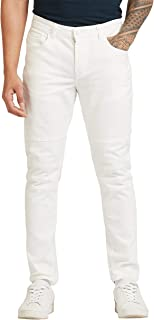 Iconic Men's 2300302 EMINEN Woven Tapered Trousers, White