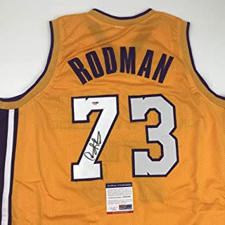 dennis rodman los angeles lakers jersey