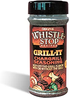 Original WhistleStop Cafe Recipes | Grill-It Chargrill Seasoning | 5.6-oz | 1 Shaker
