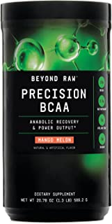 Beyond Raw Precision BCAA - Mango Melon, 30 Servings, Provides Energy and Supports Muscle Repair
