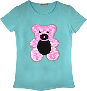 Girls Branded Hot Tuna Casual Soft Cotton Top Crew Neck T Shirt Size 7-13 Yrs