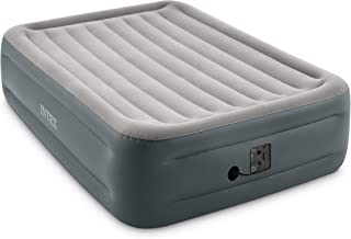 """Intex Dura-Beam Series Essential Rest Airbed with Internal Electric Pump, Bed Height 18"""", Queen"""