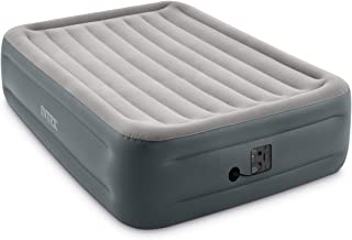 "Intex Dura-Beam Series Essential Rest Airbed with Internal Electric Pump, Bed Height 18"", Queen"