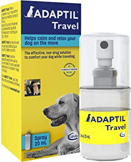 Adaptil Calming Spray for Dogs (20 ML)| Vet Recommended to Calm During Travel, Vet Visits, Boarding & More