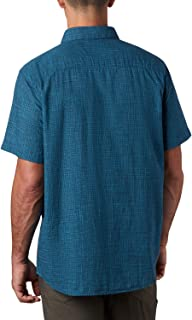 Columbia Under Exposure Camisa de Manga Corta Yarn Dye Hombre