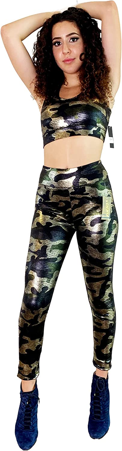 Activewear Easy Luxe - Padded Sports Yoga Bra and Leggins