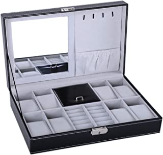 Best mens watch holder jewellery boxes Reviews