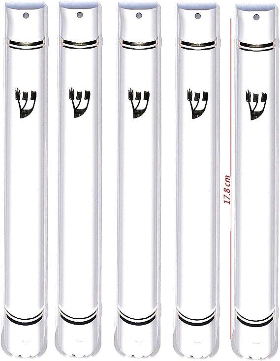 15 Details about  /MEZUZAH CASE Holder shidell מזוזה Rubber Cork 6.3//4 inch for 15 cm Scroll
