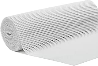 DOLOPL Grip Shelf Liner White Shelf Liners Drawer and Shelf Liner Non Adhesive Durable Cuttable 12