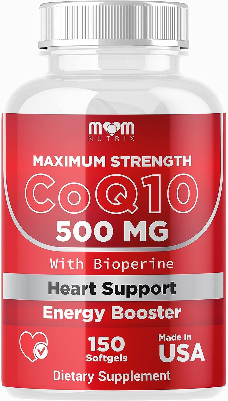 •MOM Nutrix CoQ10 500mg – Maximum Healt Seasonal Wrap Introduction Strength Heart Super sale