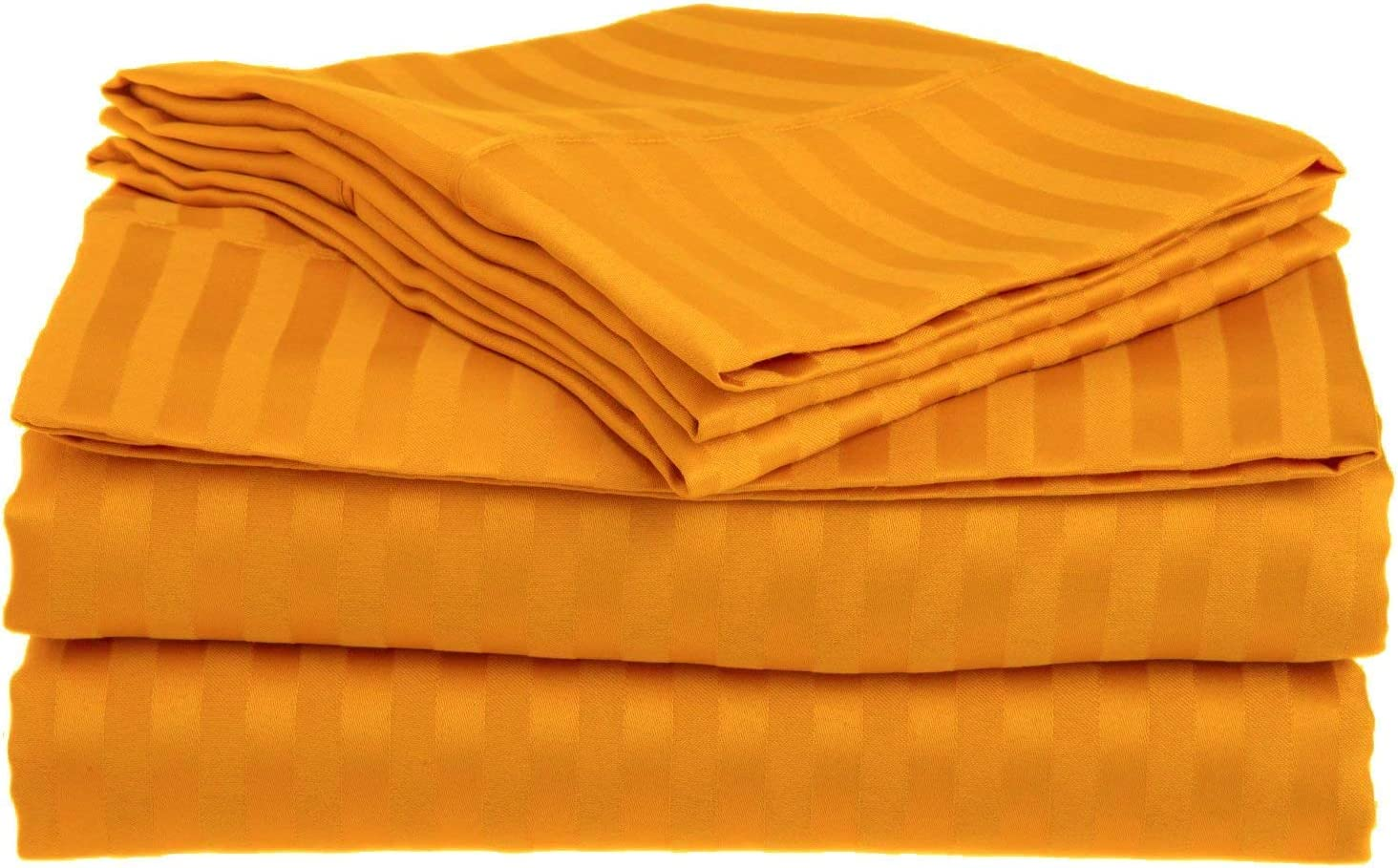 Hotel Luxury Certified 100% Cotton { New arrival Set Sheet Max 53% OFF 6-PCs } 1800-TC
