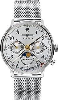 ツェッペリン ヒンデンブルク クオーツ ユニセックス 腕時計 7037M-1 シルバー[並行輸入品]