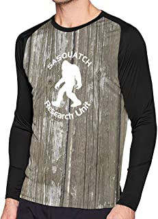 EC98TCE Sasquatch Research Unit Long Sleeve T-Shirt Round Neck Tee Shirts Boy T Shirts