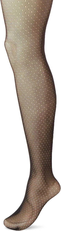 Hanes Women's Curves Dot Net Tights