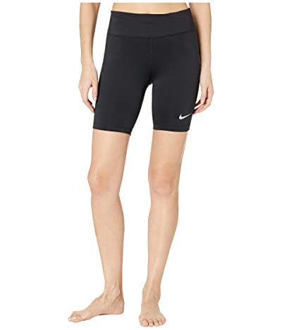 Nike Fast Shorts 7 (Black/Reflective Silver) Women