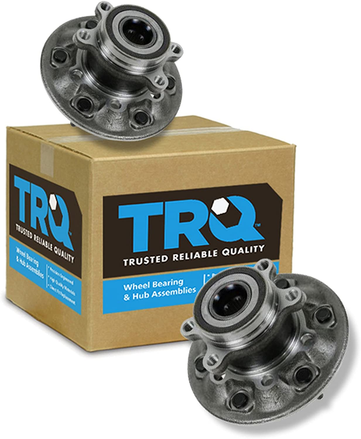 Brand new TRQ Wheel Bearing Hub Assembly Front Colorado Chevy G for Pair Limited time cheap sale